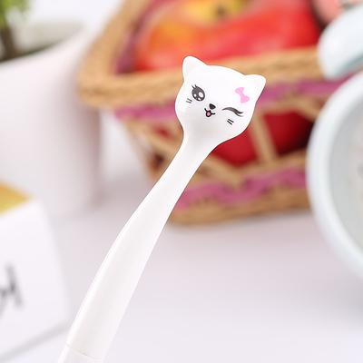 Kawaii Cat Pens - White