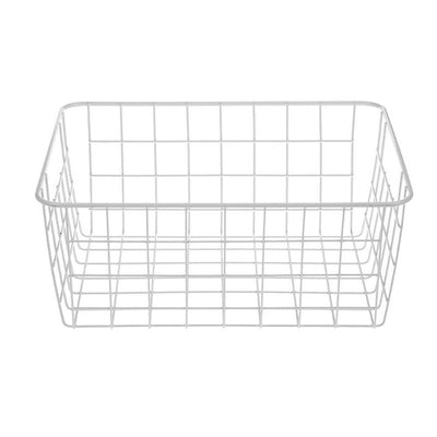 Storage Basket - White