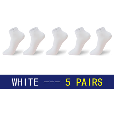 Men Socks - White / Eu39-43 Us6.5-9