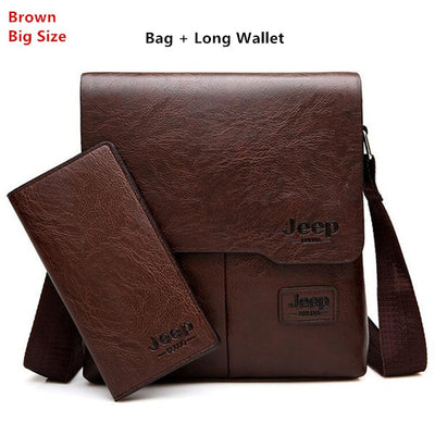 Business Bags For Men - L-Brown 1505-8068