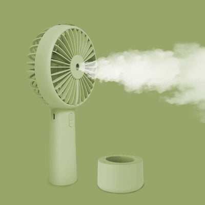 Mini Fan - matcha green