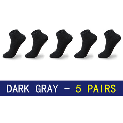 Men Socks - Dark Grey / Eu39-43 Us6.5-9