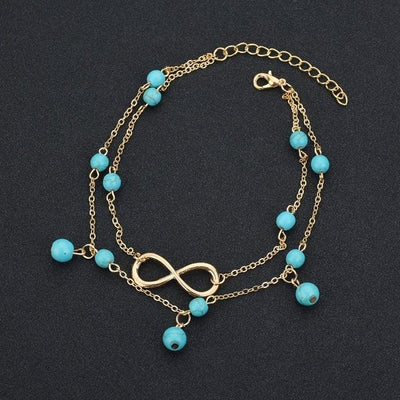 BOHO LIFE ANKLETS - Antique Gold Plated