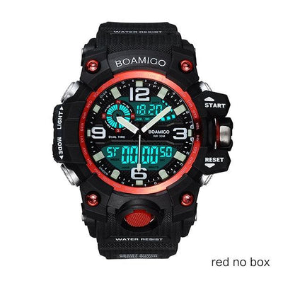 Men Sports Watches - red no box