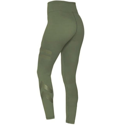 Sports Elastic Leggings for Women - green / S