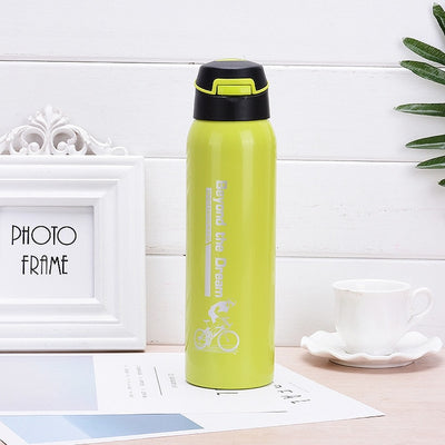 water bottle - 500ml / green