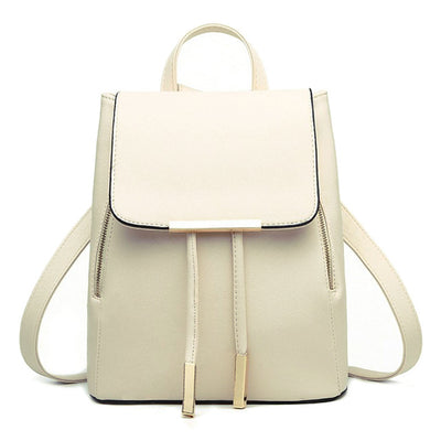 Women PU Leather Backpack - as pic show [29] / 12 inches