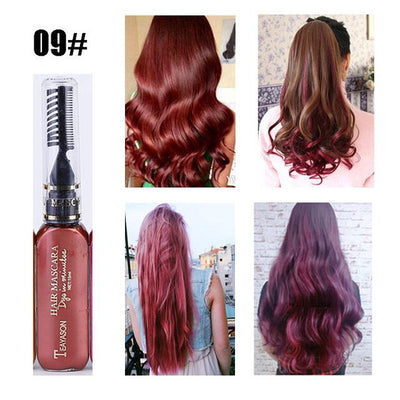 Long Lasting Hair Dye - Maroon