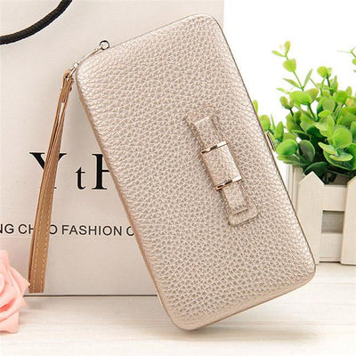 Wallet for Women - A Gold