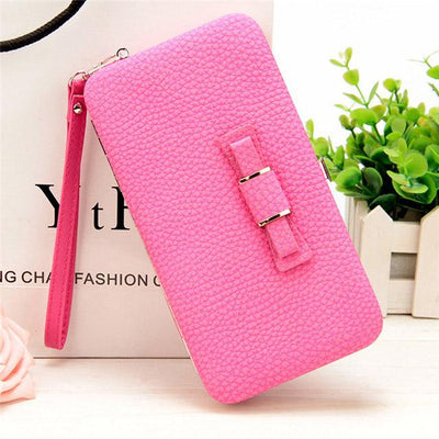 Wallet for Women - A Rose Red