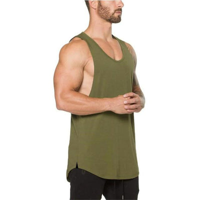 Workout Tank Top - Army Green / M