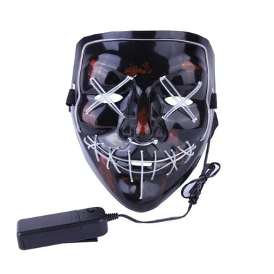 Purge Light-Up LED Mask - Light Blue
