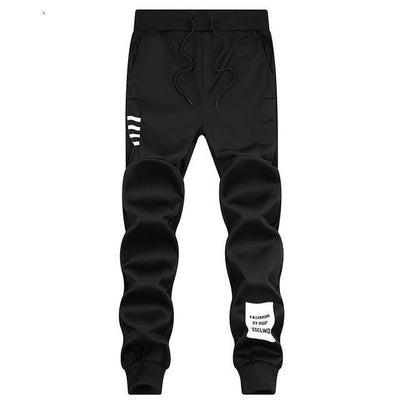 Trendy Track Pants - Black3 / S