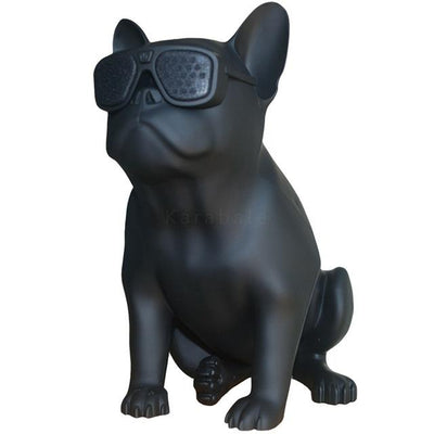 French Bulldog Speaker V2 - Black