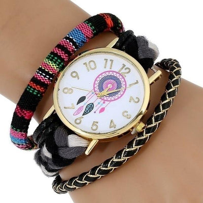 Dream Catcher Watch - Black