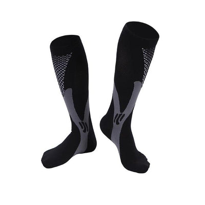 Compression Socks Muscle Recovery - Black / S-M