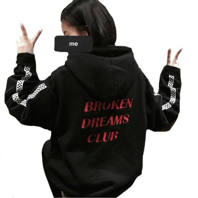 Broken Dreams Club Hoodie - Black