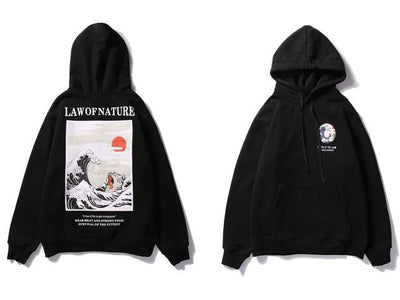 The Law of Nature Hoodie - Black / M