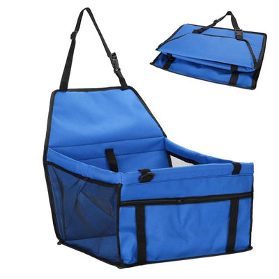 Dog Safety Car Seat - Blue5
