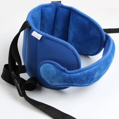 Child Car Seat Head Support - Blue