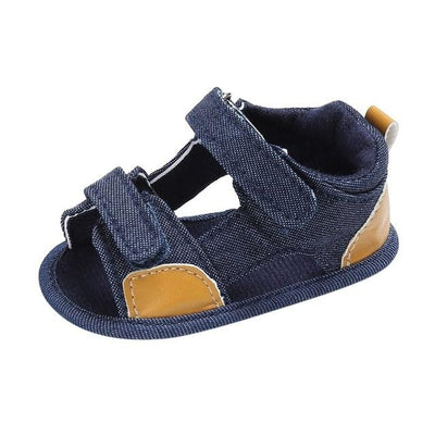 Moccasins Casual Sandals - Blue / 0-6 Months