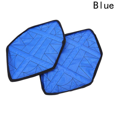 Automatic Step in Shoe Covers - Blue