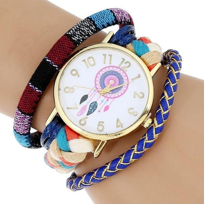 Dream Catcher Watch - Blue