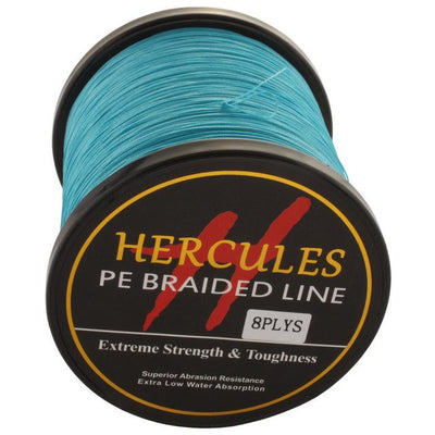 Colored Braided Fishing Line - Blue