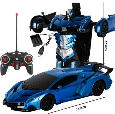Transformers RC Car - Buy 2, Get 1 50% Off - Blue