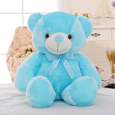 Light Up Teddy Bear - Blue