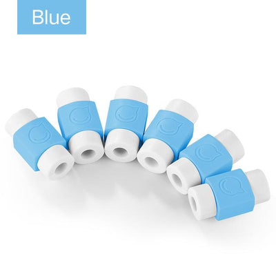 Cable Protector (6 PCS) - Blue
