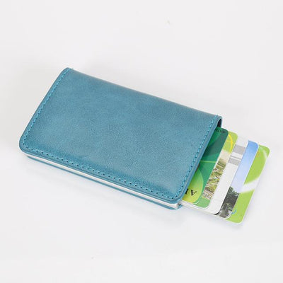 Perfect Card Organizer Wallet - Blue