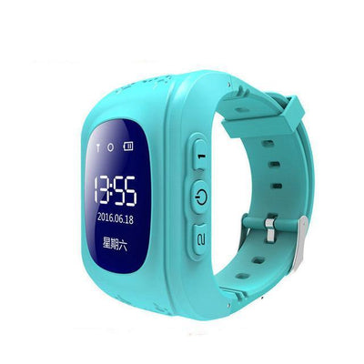 Anti-Lost Smart Watch - Blue color / English GPS Version
