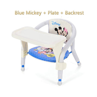 Children's DIning Chair - Blue luxury