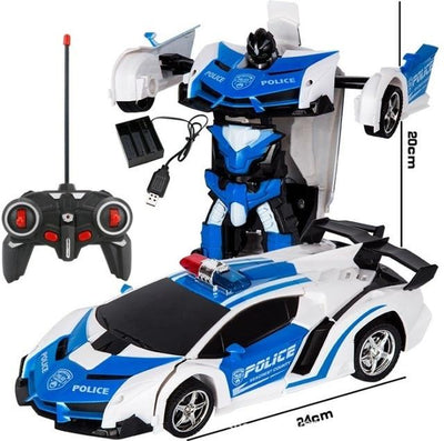 Transformers RC Car - Buy 2, Get 1 50% Off - Blue white