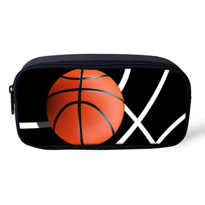 Sports 3D Pencil Case - Basketball