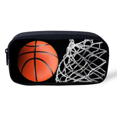 Sports 3D Pencil Case - Basketabll Swoosh