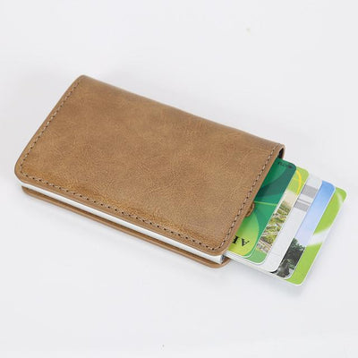 Perfect Card Organizer Wallet - Coffee