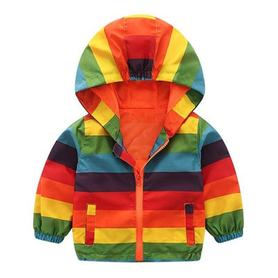 Kiddie Windbreaker - Rainbow / 24M