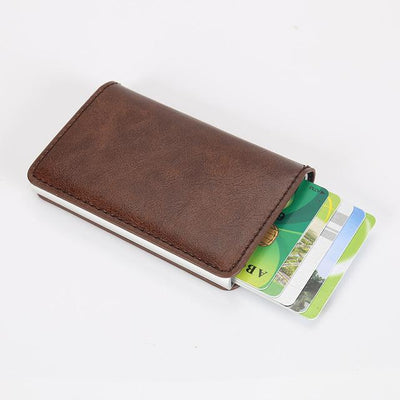 Perfect Card Organizer Wallet - DarkBrown