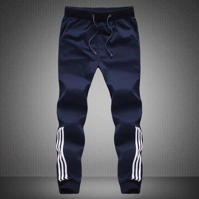 Trendy Track Pants - Dark Blue2 / S