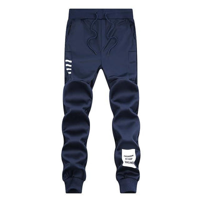Trendy Track Pants - Dark Blue4 / S