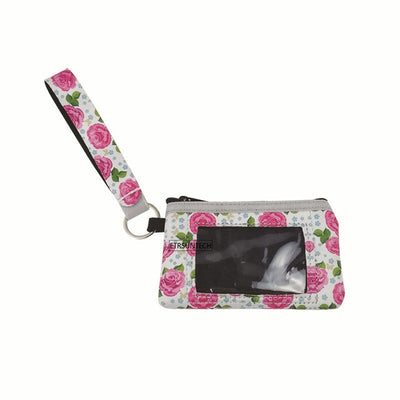 printed wallet for women (4pcs) - Flower