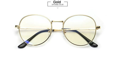 Anti-Blue-ray Computer Glasses - Gold