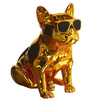 French Bulldog Speaker V2 - Gold