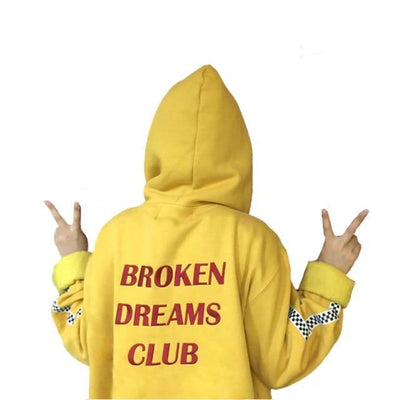 Broken Dreams Club Hoodie - Gold