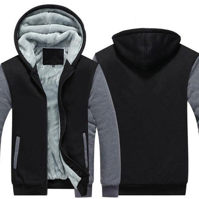 Super Warm Hype Hoodies - Gray / S