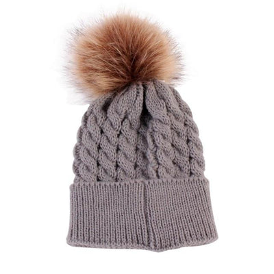 Super Soft Knitted Beanie - Gray