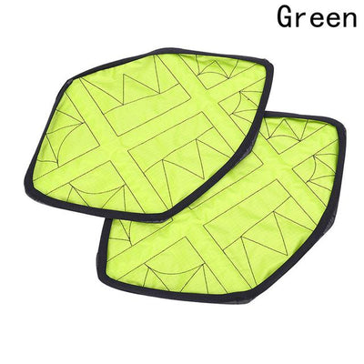 Automatic Step in Shoe Covers - Green