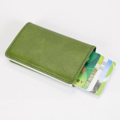 Perfect Card Organizer Wallet - Green